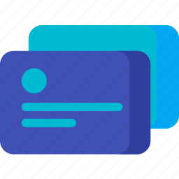 business, card, credit, finance, office, payment icon