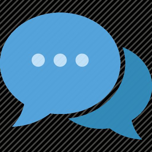bubbles, chat, communication, conversation, talk, ui icon