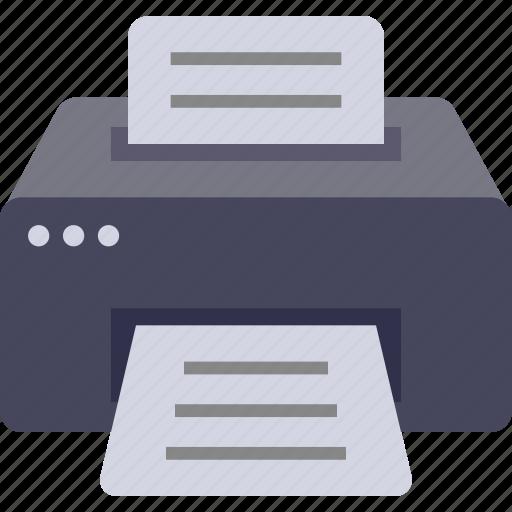 copy, device, fax, office, printer, printing icon