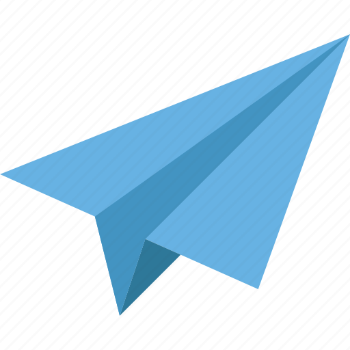 creative, launch, office, paper plane, plane, project, start icon