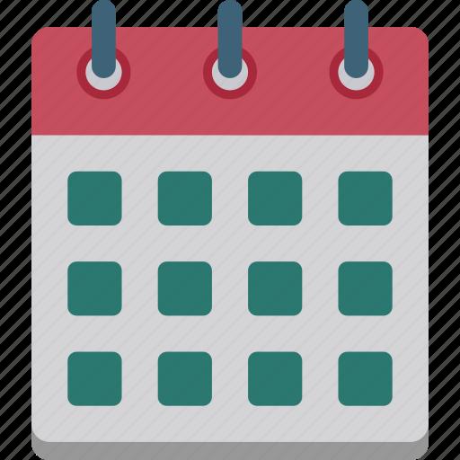 calendar, days, history, month, schedule, timer, year icon
