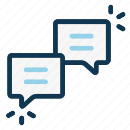 callout, chat, communication, conversation, dialog, message, office icon