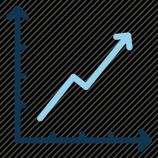chart, data, diagram, finance, office, progress icon