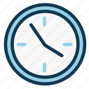 clock, deadline, hour, minute, office, time, watch icon