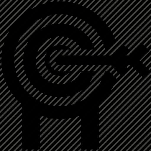 Bulls eye, crosshair, dartboard, goal, target icon - Download on Iconfinder