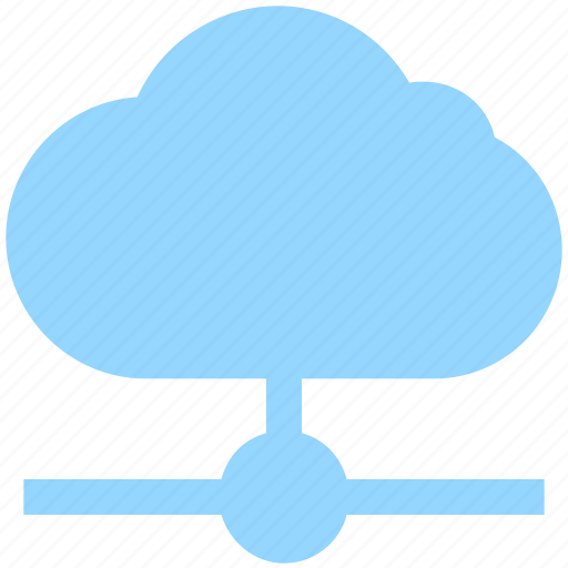 business, cloud, cloud connection, data, hosting, network icon