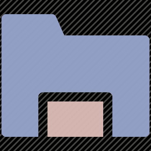 computer folder, document, document folder, file folder, older icon