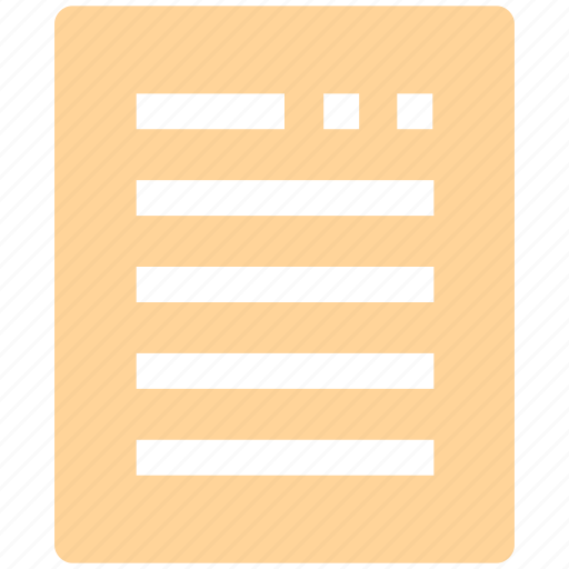 banking, contract, document, file, paper, sheet icon