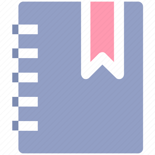 book, bookmark, document, education, recipe icon