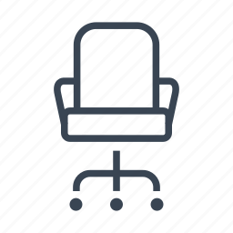 armchair, business, chair, office icon