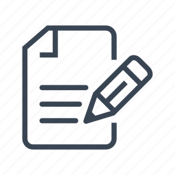 agreement, contract, document, pen, sign, write icon