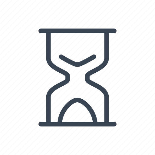 hourglass, sandglass, time, timer icon