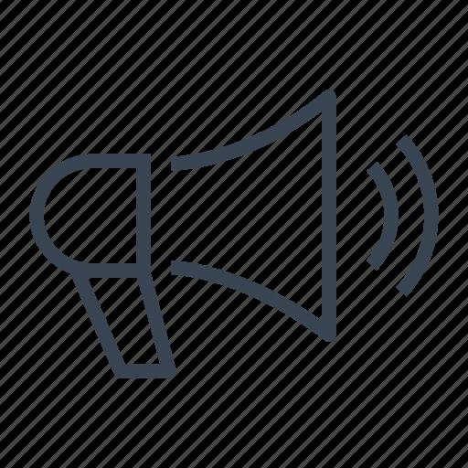business, loudspeaker, marketing, megaphone icon
