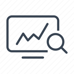 analytics, computer, graph, statistics icon