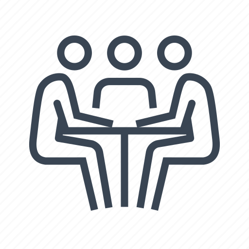 business, meeting, office, teamwork, work icon