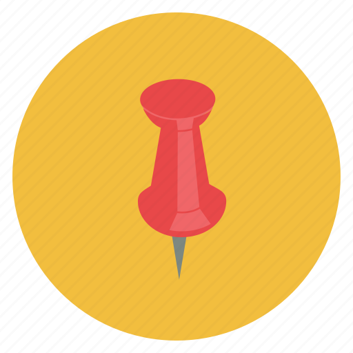 mark, pin icon