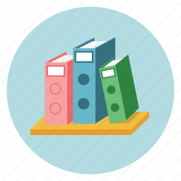 documents, folders, records icon
