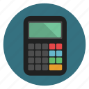 calculate, calculator, accounting, finance, device, banking