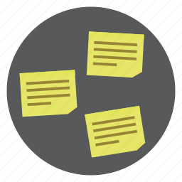 note, sticky notes icon