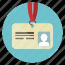 card, id, identification, identity, person, profile, user