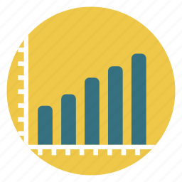 exchange, statistics icon