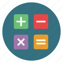 calculator, finance icon