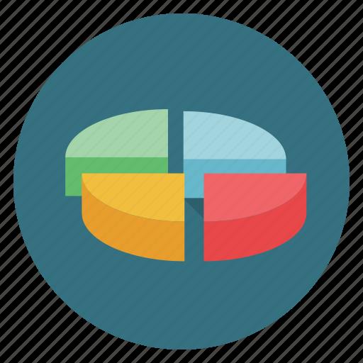pie, statistics icon