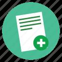 delete, document, extension, file, format, page, paper