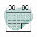 appointment, calendar, date, day, meeting, schedule icon