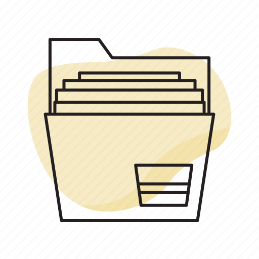 documents, file folder, files, folder, office icon