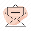 envelope, letter, mail, message, send
