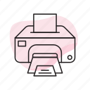 copier, laser, print, printer, printing