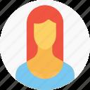 avatar, businesswoman, employee, office, person, user, woman