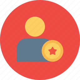 achievement, award, bedge, employee, medal, office, reward icon