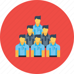 company, corporate, culture, employees, office, people, team icon