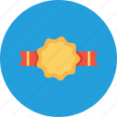 bedge, label, milestone, office, reward, ribbon icon