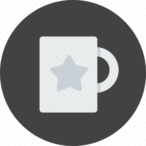 award, coffee, employee, mug, office, prize, star icon