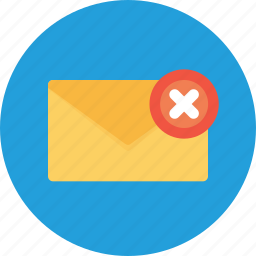 email, fail, letter, mail, message, office, send icon