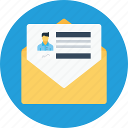 email, letter, mail, message, newsletter, offer, office icon