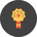 award, bedge, best, office, quality, ribbon, star icon