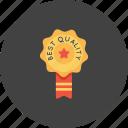 award, bedge, best, office, quality, ribbon, star