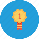 award, employee, first, number, office, one, position icon