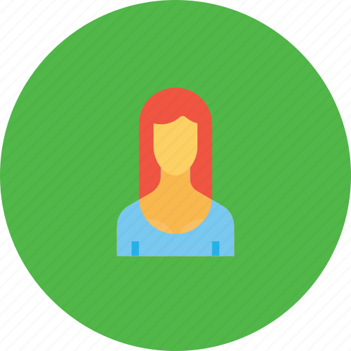avatar, employee, lady, office, person, user, woman icon