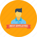 avatar, best, employee, man, office, person, user icon