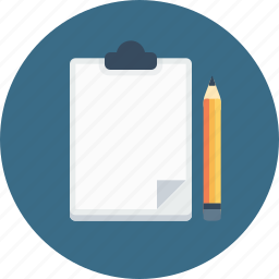 letterpad, notepad, notes, office, pencil, write, writingpad icon