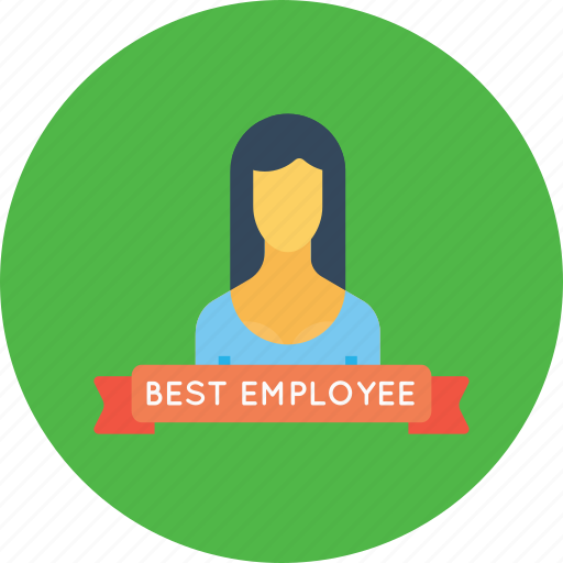 avatar, best, employee, office, person, user, woman icon