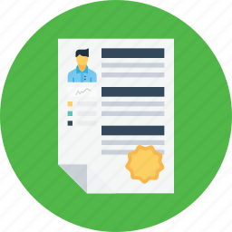 appraisal, badge, business, employee, recruitment, resume, star icon