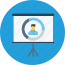 business, chart, employee, growth, office, performance, statics icon