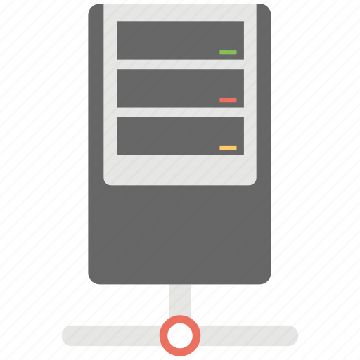 Network server, computer server, computer networking, server networking, web hosting icon