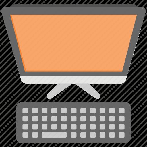computer, desktop computer, home computer, pc, workplace icon